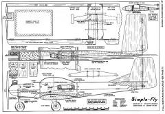 Simple Fly AAM-06-71 model airplane plan