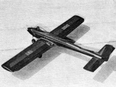 Sky Mite  model airplane plan