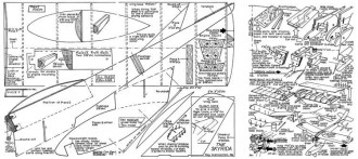 Skyrida model airplane plan