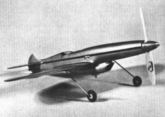 Stiletto model airplane plan
