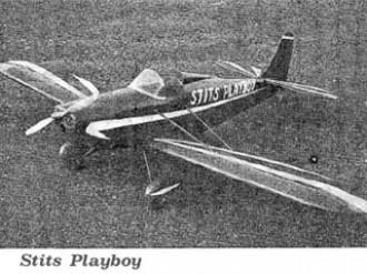 Stits Playboy model airplane plan