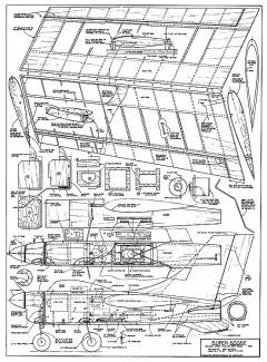 Super Goose model airplane plan