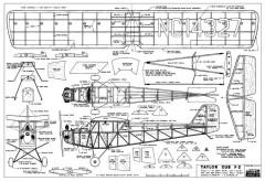 Taylor Cub F-2 model airplane plan