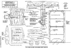 Vertigo model airplane plan