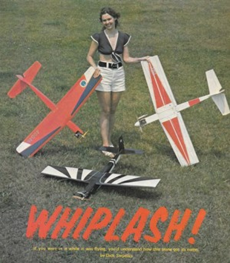 Whiplash model airplane plan
