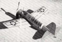 OS2U-1 Kingfisher model airplane plan