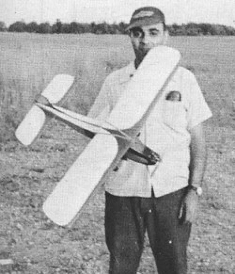 1/2 Wave model airplane plan