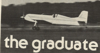 The Graduate model airplane plan