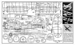 Curtiss Osprey model airplane plan