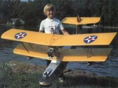 1920s Navy Flying Boat model airplane plan