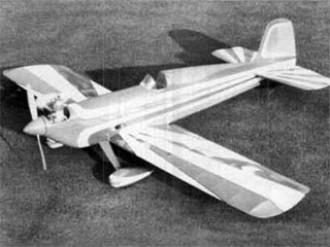 Acro Sportster model airplane plan