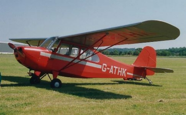 Aeronca Champion model airplane plan