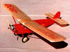 Alco Sportplane model airplane plan