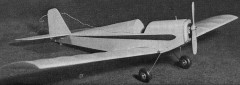 B.L.T. model airplane plan