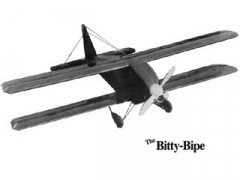Bitty Bipe model airplane plan