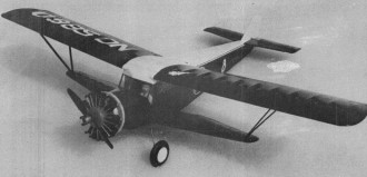 Buhl Airsedan model airplane plan