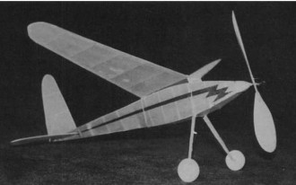 Bunch Cadet Minor model airplane plan