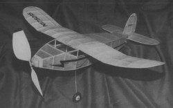 Celtic model airplane plan