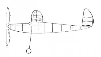 Crusader model airplane plan