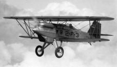 Curtiss F6C-1 Hawk model airplane plan