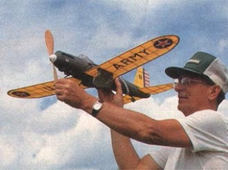 Curtiss Shrike YA-8 model airplane plan