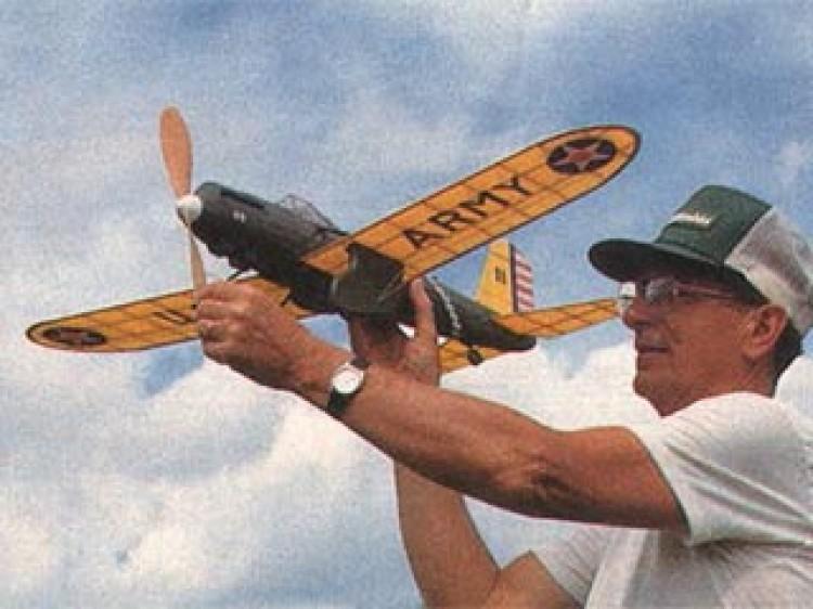 Curtiss Shrike YA-8 model airplane plan