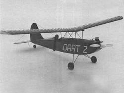 Dart 2 model airplane plan