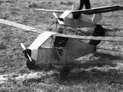 Desert Duster model airplane plan
