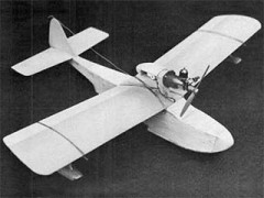 Duckling model airplane plan