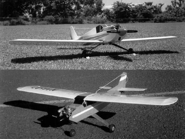 Eee-Z-Fli model airplane plan