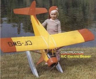 Electric Beaver model airplane plan