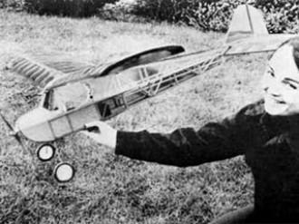 Electric Brigadier model airplane plan