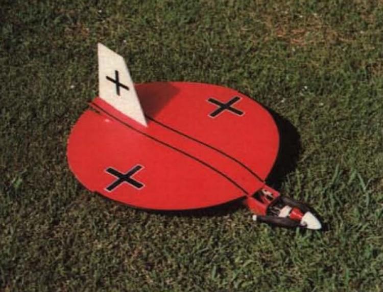Floppy Disc model airplane plan