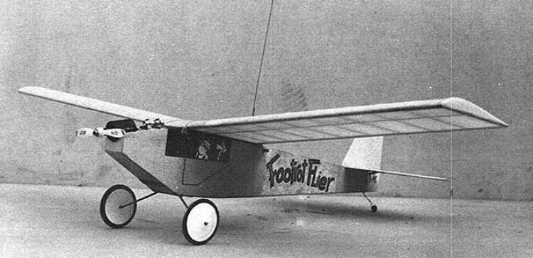 Footrot Flier model airplane plan