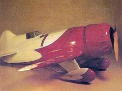Gee Bee R1/R2 model airplane plan