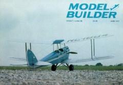Gipsy Moth model airplane plan