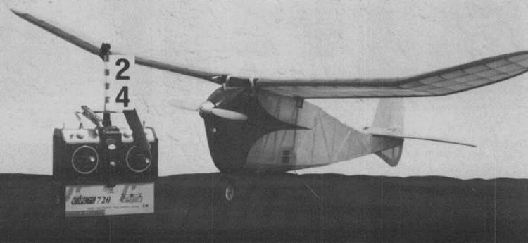 Hornet model airplane plan