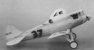 Howard DGA-3 model airplane plan