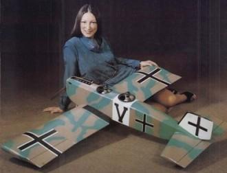 Junkers J-10 model airplane plan