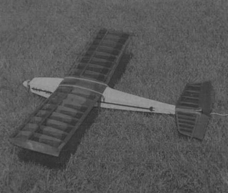 LLP 50 model airplane plan