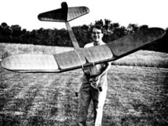 Lanzo 1937 RC Stick model airplane plan