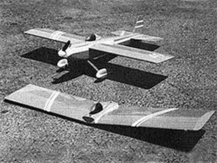 Lil Dublr model airplane plan