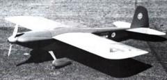 Lil Gem III model airplane plan