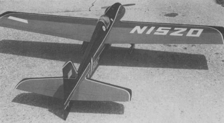 Lil Quickie model airplane plan
