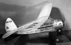 Litl Dennyplane Jr model airplane plan