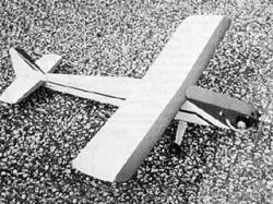 Little Bomb model airplane plan