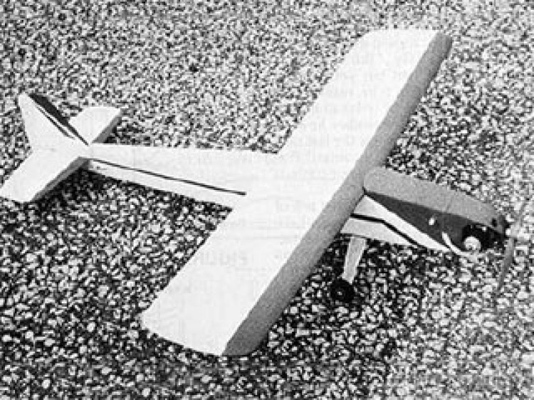 Little Bomb model airplane plan