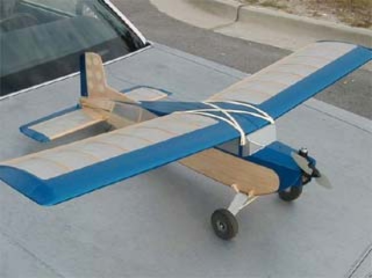 Live Wire model airplane plan