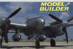 Lockheed P-38L Lightning model airplane plan