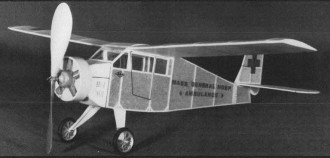 Mass General Bostonian model airplane plan